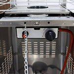 GREADEN Lynco - Chauffage d'extérieur à gaz, pyramide - Inox puissance réglable de 5 à 13 KW - LC-199961 de la marque GREADEN image 4 produit
