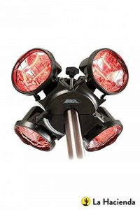 Heatmaster U3R20 Chauffage de terrasse infrarouge Fixation sur parasol 2 kW de la marque Toolbank image 0 produit
