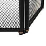 Home Discount Écran pare-étincelles Shelby à 3panneaux reg, noir de la marque Home Discount image 4 produit
