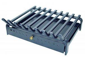 Imex El Zorro 10805-F Grille de foyer avec tiroir à cendres couleur fer forgé 60 x 45 cm de la marque IMEX EL ZORRO image 0 produit
