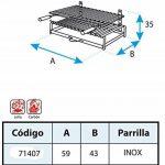 IMEX EL ZORRO 71406Barbecue avec grille de fer Inox 5000.0000 de la marque IMEX EL ZORRO image 1 produit