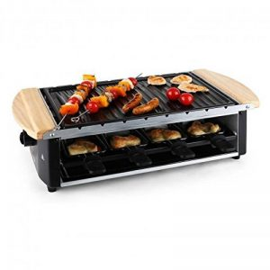 Klarstein 10022267Grill de table électrique 1200W Noir, Acier inoxydable, Bois barbecue et grill de la marque Klarstein image 0 produit