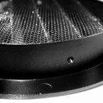 Klimapartner WSGB 125 - Grille de Ventilation Noir, Ronde et Plate Avec Moustiquaire de la marque Klimapartner image 2 produit