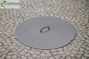 korono Couverture Couvercle Ø 80cm–en acier pour bols à feu/Brasero de la marque Korono image 0 produit