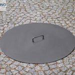 korono Couverture Couvercle Ø 80cm–en acier pour bols à feu/Brasero de la marque Korono image 1 produit