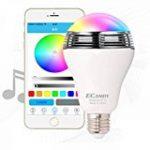 Lampe Parasol, 64 LEDs Lampe sans Fil pour Parasol de Jardin avec Bluetooth 3.0 Speaker Audio USB Rechargeable éclairage d'extérieur pour tente de camping, parasol ou sur branche d'arbre de la marque Bloomwin image 7 produit