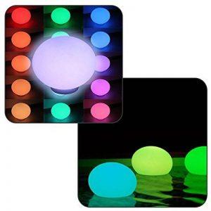 Linxor France ® Flatball, lampe led flottante 35cm x 35cm x 24cm rechargeable + Télécommande - Norme CE de la marque Linxor image 0 produit