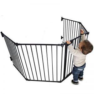 Monsieur Bébé ® Parc ou Barrière de sécurité et cheminée enfant 310cm (5 côtés) / Norme NF EN1930 - 2011 de la marque Monsieur Bébé image 0 produit