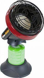 Mr. Heater Little Buddy Chauffage à gaz avec adaptateur pour cartouches à gaz avec un filetage de 7/16 de la marque Mr. Heater image 0 produit