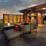 Muztag Braséro de terrasse design au gaz - Wood Cube 7,3 kW de la marque Muztag image 2 produit