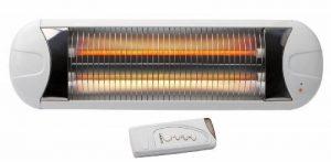 Olympia Radiateur - Chauffage rayonnant pour table à langer/térasse/atelier - Infrarouge - Fixation murale de la marque Olympia image 0 produit