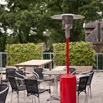 outTrade GH12RED Chauffage de terrasse à gaz Rouge de la marque outTrade image 3 produit