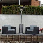 outTrade Parasol chauffant au gaz, couleur gris de la marque outTrade image 2 produit