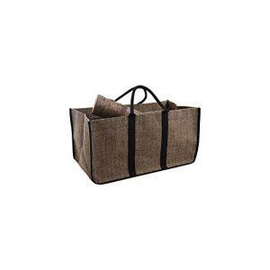 Panier sac à bûches en jute plastifiée de la marque AUBRY GASPARD image 0 produit