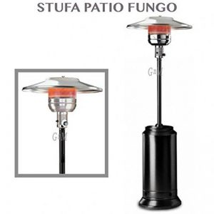 Parasol chauffant à gaz GPL 30m² - rayonnant, avec roues, pour Bouteilles de 20kg - professionnel de la marque professional image 0 produit