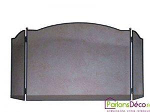 Pare-feu de cheminée en acier Artois Grand Modèle de la marque Delta image 0 produit