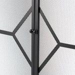 Pare-feu large pour cheminée ou poêle, hauteur ~81cm (153.67cm (l) x 60.9cm (P) x 81.28cm (H)) de la marque Crannog image 3 produit