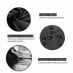 Patio Chauffe-Couverture Extérieure Imperméable Jardin Housse de pluie Chinmena 1.2m Haute - Noir de la marque F Fellie Cover image 1 produit