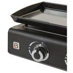 Plancha gaz 3 feux - Plaque fonte française- 65,7x34cm - Noir de la marque BRASERO image 2 produit
