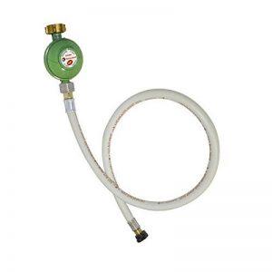 PROWELTEK Détendeur Propane 37 mbar + Tuyau gaz Butane/Propane Flexible 1.50 m de la marque PROWELTEK image 0 produit