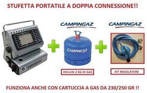 Radiateur Chauffage soufflant portable à double connexion incluse Bombonne de gaz Campingaz 2kg de la marque ALTIGASI image 0 produit