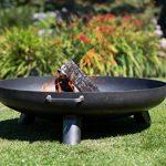 RedFire Salo–Metal Fire Pit 80cm, Industrial Look, 80x 80x 24cm, 81020 de la marque RedFire image 1 produit