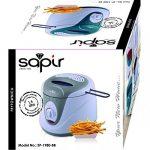 Sapir SP-1980BB grey électrique friture Aluminium Revêtement Pot haftfreie OL   Fries–Poisson–1,5L–1200W, Blanc et Gris de la marque SAPIR image 2 produit