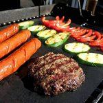 Seacue Tapis de Cuisson, Set de 5 Tapis de Cuisson pour Barbecue et Four- 40cm*33cm Feuilles Anti-adhérent de BBQ et Feuilles de Cuisson réutilisable pour les barbecue à gaz, Charbon ou électriques de la marque Seacue image 3 produit