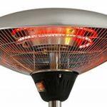 Smart Planet Qualité radiateurs électriques, de chauffage Champignon–Faible consommation d'énergie–Acier Inoxydable Alu–Lumière chaude–Geda de la marque Smart Planet image 1 produit