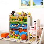 SONGMICS Meuble de Rangement Étagère pour jouets enfants Casiers amovibles Cadre blanche GKR04W de la marque SONGMICS image 2 produit