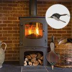 Soufflet de cheminée en bois, 38,9cm manuel Air Blower avec lanière de cuir à suspendre pour barbecue Camping de la marque Lembeauty image 1 produit