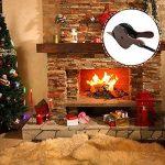 Soufflet de cheminée en bois, 38,9cm manuel Air Blower avec lanière de cuir à suspendre pour barbecue Camping de la marque Lembeauty image 2 produit