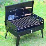 SunJas Barbecue Barbecue à charbon,BBQ Barbecue Four de Charbon Portable Standgrill Portable BBQ Charbon Pliable Robuste Barbecue grill Charbon (Barbecue Charbon) de la marque Sunjas image 4 produit