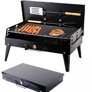 SunJas Barbecue Barbecue à charbon,BBQ Barbecue Four de Charbon Portable Standgrill Portable BBQ Charbon Pliable Robuste Barbecue grill Charbon (Barbecue Charbon) de la marque Sunjas image 0 produit
