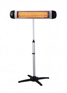 Suntec Wellness 13652 Heat Ray Carbon 3000 Outdoor Chauffage rayonnant carbone avec pied télescopique 3000 W de la marque Suntec Wellness image 0 produit