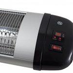 Suntec Wellness Chauffage rayonnant carbone KLIMATRONIC Heat Ray 3000 Carbon Outdoor - 3 niveaux de chauffage - rendement élevé (convient également pour l'intérieur) - puissance de chauffage max. 3000 watts de la marque Suntec image 1 produit