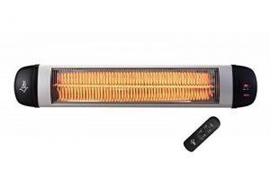 Suntec Wellness Chauffage rayonnant carbone KLIMATRONIC Heat Ray 3000 Carbon Outdoor - 3 niveaux de chauffage - rendement élevé (convient également pour l'intérieur) - puissance de chauffage max. 3000 watts de la marque Suntec image 0 produit