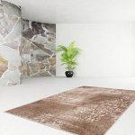 Tapis moderne; moquette; Carpet Design Funky 1424 Karamell 190cmx280cm de la marque Lalee image 1 produit