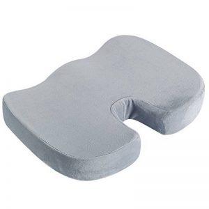 Tebery coccyx orthopédique Confort Mousse Coussin de siège en mousse à mémoire Coussin de siège orthopédique/coussin pour chaise de voyage de voiture Chaise de bureau Fauteuil roulant de la marque Tebery image 0 produit