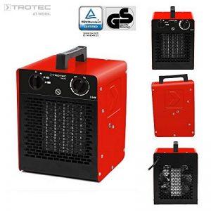 TROTEC Radiateur en céramique TDS 20C de 3kW avec deux réglages de chaleur plus une phase d'air froid de la marque Trotec image 0 produit