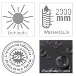 Vida GmbH Deluxe Étui de protection pour parasol chauffant/chauffage 220x 88x 48cm de la marque Vida GmbH image 1 produit