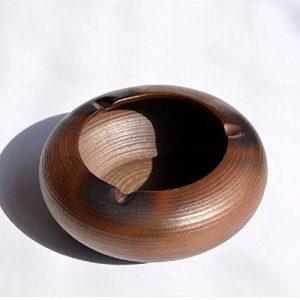 WAWZJ Cendrier Les Poteries Et Céramique Bois Ash Cylindre Part Créative. de la marque WAWZJ-Ashtray image 0 produit