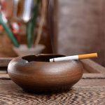 WAWZJ Cendrier Les Poteries Et Céramique Bois Ash Cylindre Part Créative. de la marque WAWZJ-Ashtray image 1 produit